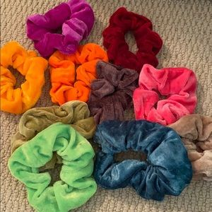 Ten Pack Of Brand New Scrunchies
